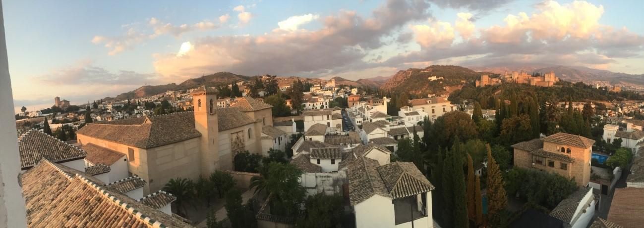 Alto del Albaicin Granada Monasterio Hermanas de Santa Clara